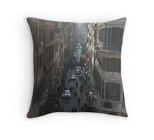 Via Condotti, Rome Throw Pillow