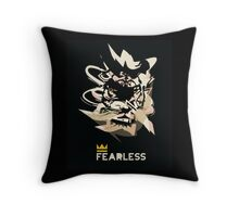 Fearless tiger Throw Pillow