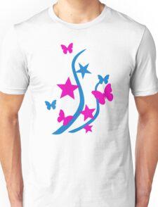 Butterflies stars Unisex T-Shirt