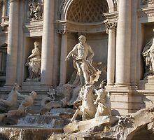 Fontana di Trevi (Trevi Fountain) by angelfruit