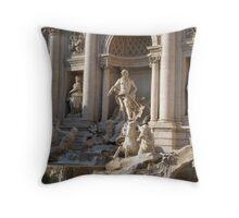 Fontana di Trevi (Trevi Fountain) Throw Pillow
