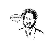 Ancient Aliens - Im Not Saying It Was The Aliens Photographic Print