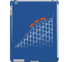 I'm on a roller coaster that only goes up (dark shirts) iPad Case/Skin