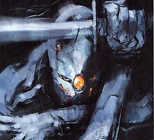Grey Fox Metal Gear by peppepro13