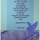 Just Follow the Lit Candles Bookmark by LadyRm