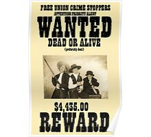 Wanted, The Nelson Gang Poster
