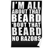 All About That Beard Poster
