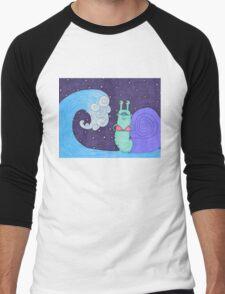 tidal snail Men's Baseball ¾ T-Shirt