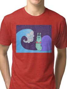 tidal snail Tri-blend T-Shirt
