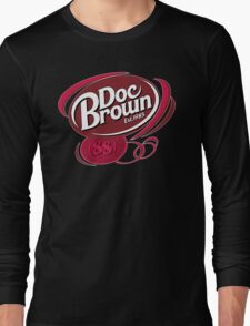 DOC BROWN COLA!! Long Sleeve T-Shirt