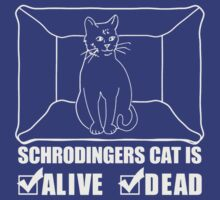 Schrodinger's Cat is Both Dead And Alive by erik95
