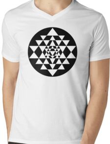 Sri Yantra #9 Mens V-Neck T-Shirt