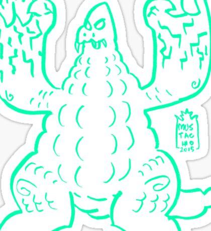 DAIKAIJU LORD - GREEN Sticker