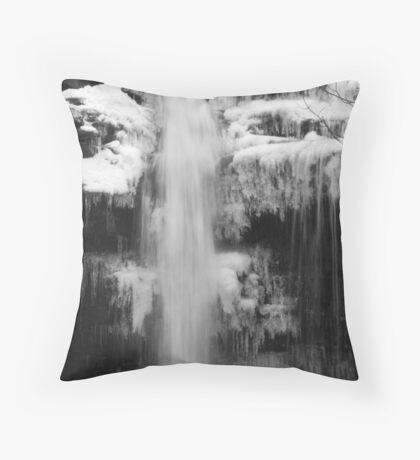 Icy Falls Bowlees Throw Pillow