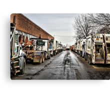 DSNY Down the Alley Canvas Print
