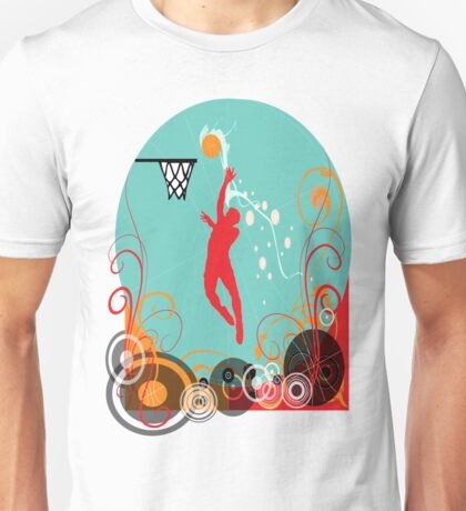basketball-1 Unisex T-Shirt