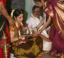 Mother In Law Welcomes by AnIndianWedding