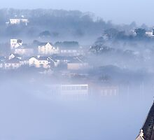 Bideford in the Mist 2 by Robert Kendall