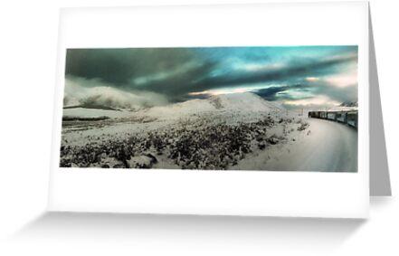 Through The White Wilderness on an Iron Horse by Peter Kurdulija