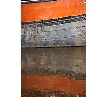 Floating orange Photographic Print