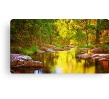 River of Gold Canvas Print