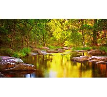 River of Gold Photographic Print