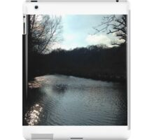shimmering water iPad Case/Skin