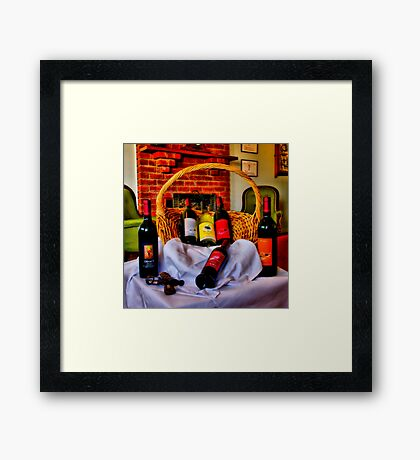 """From The Cellar Door"" Framed Print"