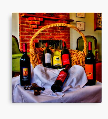 """From The Cellar Door"" Canvas Print"