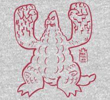 DAIKAIJU LORD - RED by mustachiosaurus