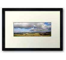 Patchwork Panorama Framed Print