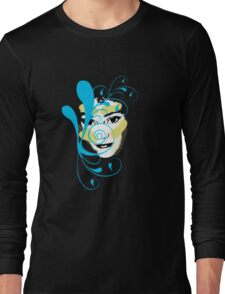 the face2 Long Sleeve T-Shirt