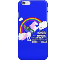 Turkicorn iPhone Case/Skin