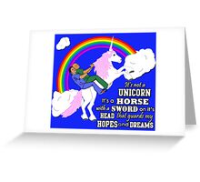 Turkicorn Greeting Card