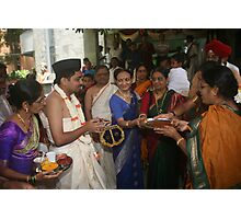 The Groom Welcome for Vivaah Photographic Print