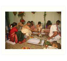 The Ganesha Puja Art Print