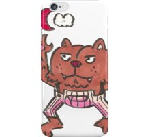 BUTTWOLF iPhone Case/Skin