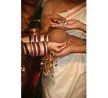 Sumuhurtham Rituals Photographic Print