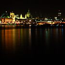 a night in the river by photogenic