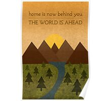 Home Behind, World Ahead Poster