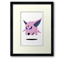 Espeon Ghost Framed Print