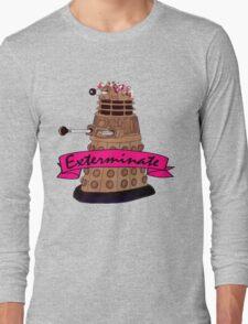 Hipster Dalek. Long Sleeve T-Shirt