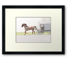 Sunday Ride Framed Print