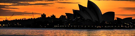 Shadow Aria - Sydney Opera House - Moods Of A City - The HDR Experience by Philip Johnson