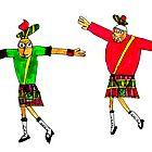 """Scotsmen Dancing """"Syrtaki"""" by Fotis"""