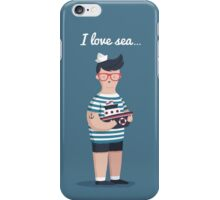 I love sea iPhone Case/Skin
