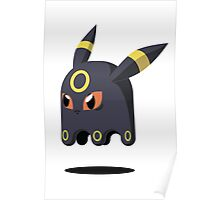 Umbreon Ghost Poster