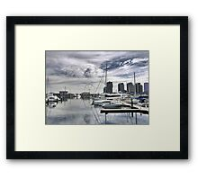 Looking for the Wheel. Framed Print
