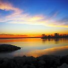 sunrise III ( while I was waiting for the sun to rise)... by sendao