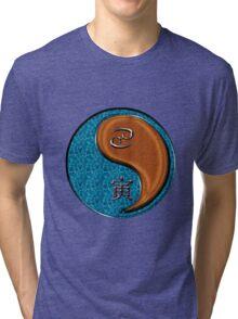 Cancer & Tiger Yang Wood Tri-blend T-Shirt